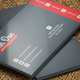 Flat Business Card V-02 - 63