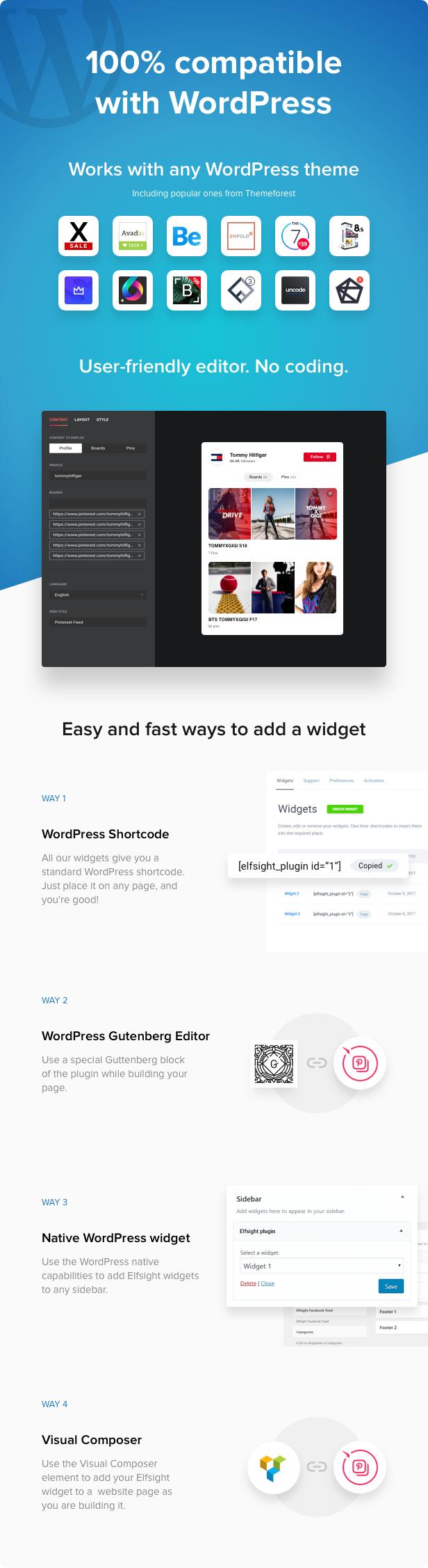 Pinterest Feed - WordPress Pinterest Feed plugin - 3