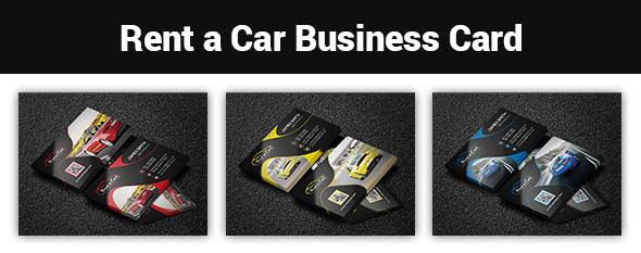 Rent A Car Business Card - 1