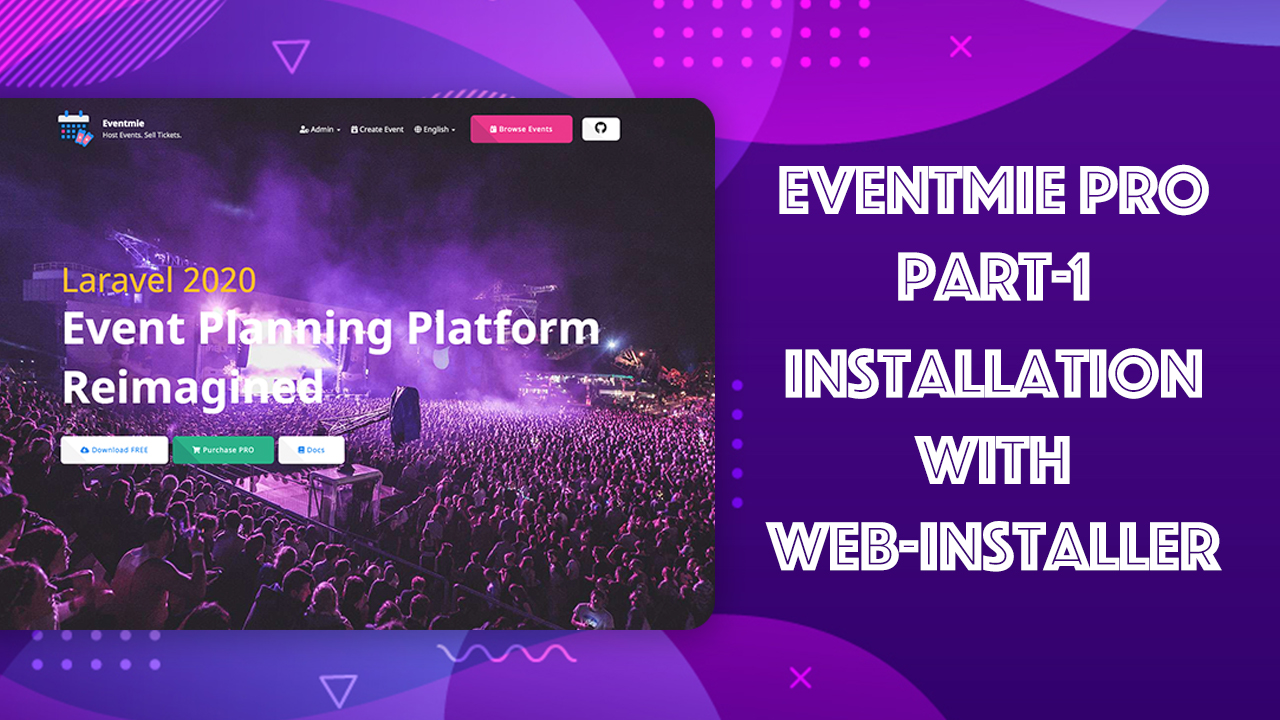 Eventmie Pro - Multi-organization Event Management & Ticket Selling Platform - 1