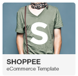 Shoppee - Stylish eCommerce Adobe Muse Template with Gumroad integration