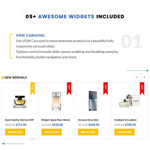 VG Pomer - Perfume Store WooCommerce WordPress Theme - 15
