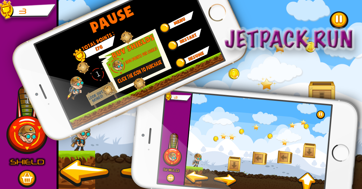 Rabbit Forest - iOS - Android - iAP + ADMOB + Leaderboards + Chartboost Buildbox - 3