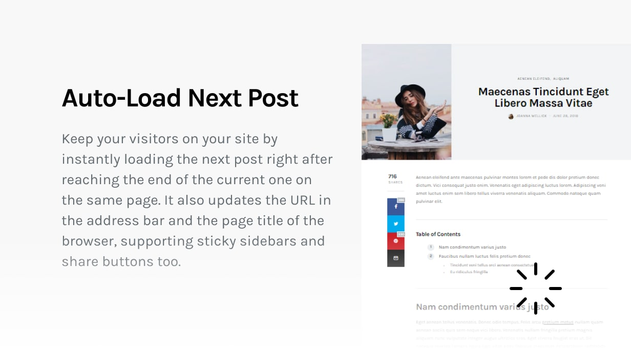 The Affair - Creative Theme for Personal Blogs and Magazines - 9