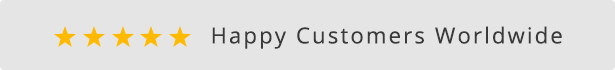 Happy Customers Worldwide