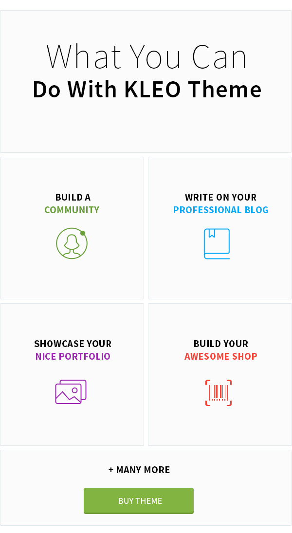 KLEO - Pro Community Focused, Multi-Purpose BuddyPress Theme - 9