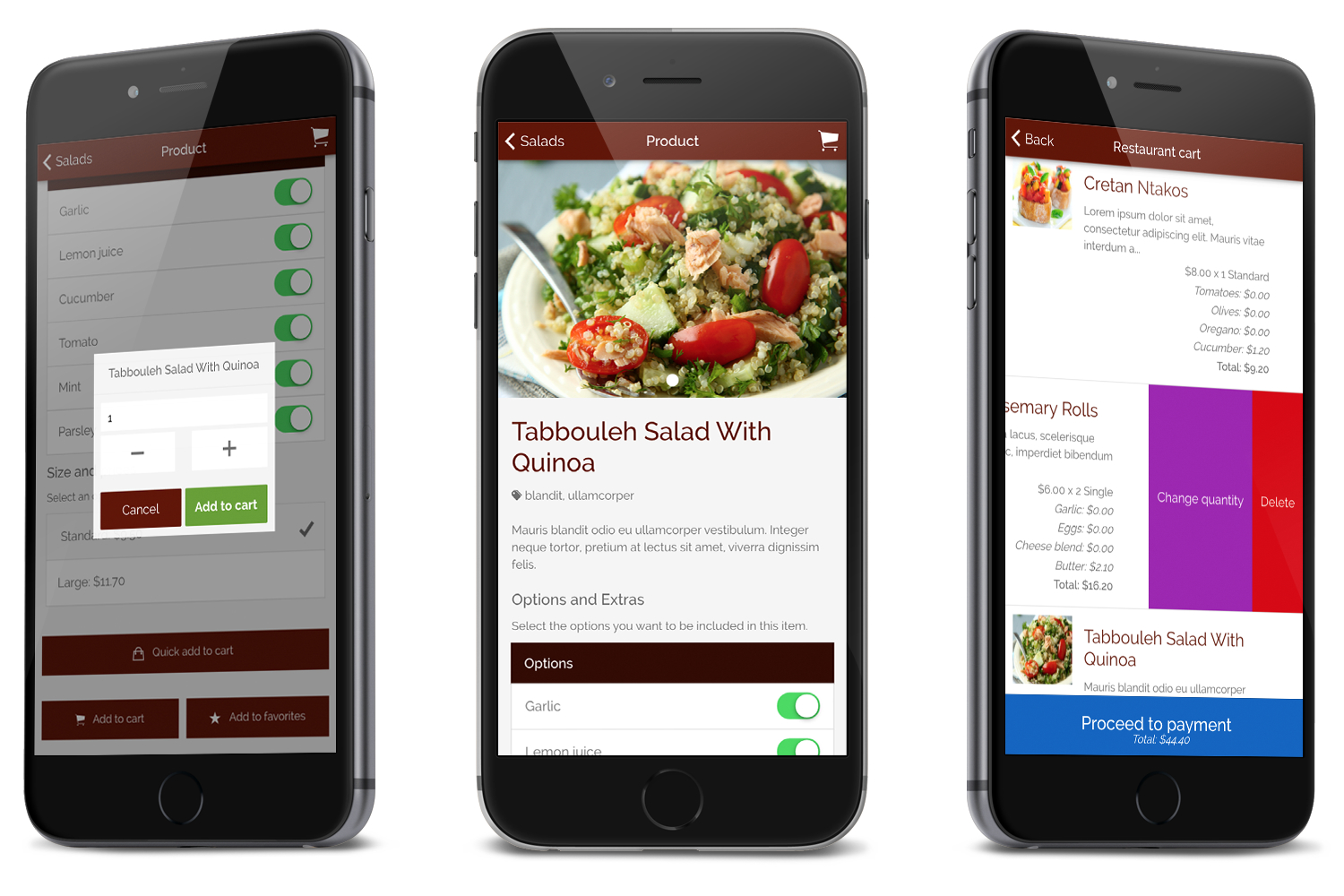 Restaurant Ionic Classy- Full Application with Firebase backend - 7