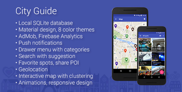 City Guide - Map App for Android