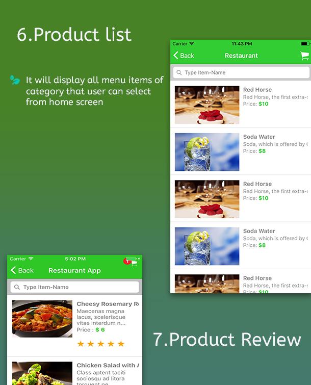 Ionic 3 Restaurant app with Firebase - 9