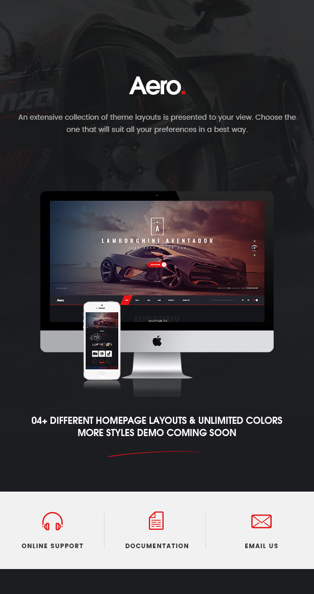 Aero - Car Accessories Responsive Prestashop 1 7 Theme