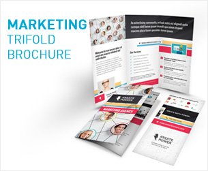Media and Communication Trifold Brochure - 2