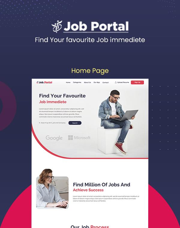 Job Portal Html Template Updated