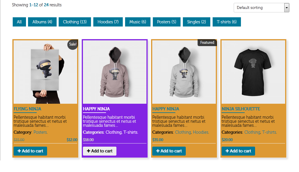 WooCommerce Manage Pages Layout With Unlimited Owl Slider - 4