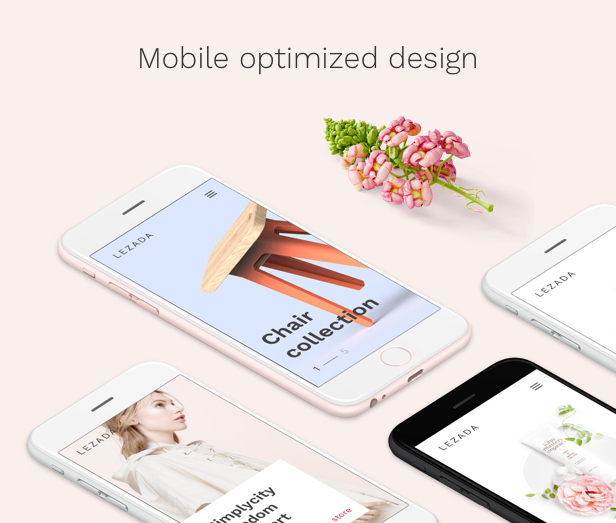 Fashion WooCommerce WordPress Theme - Mobile Ready