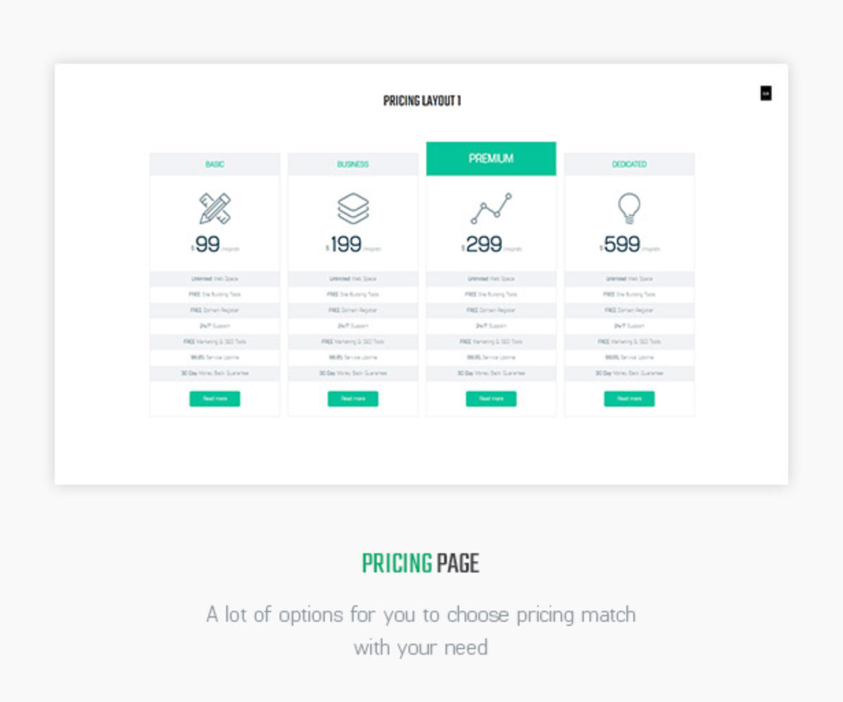 Littlemonsters Pricing Page Sport Shop Woocommerce WordPress Themes
