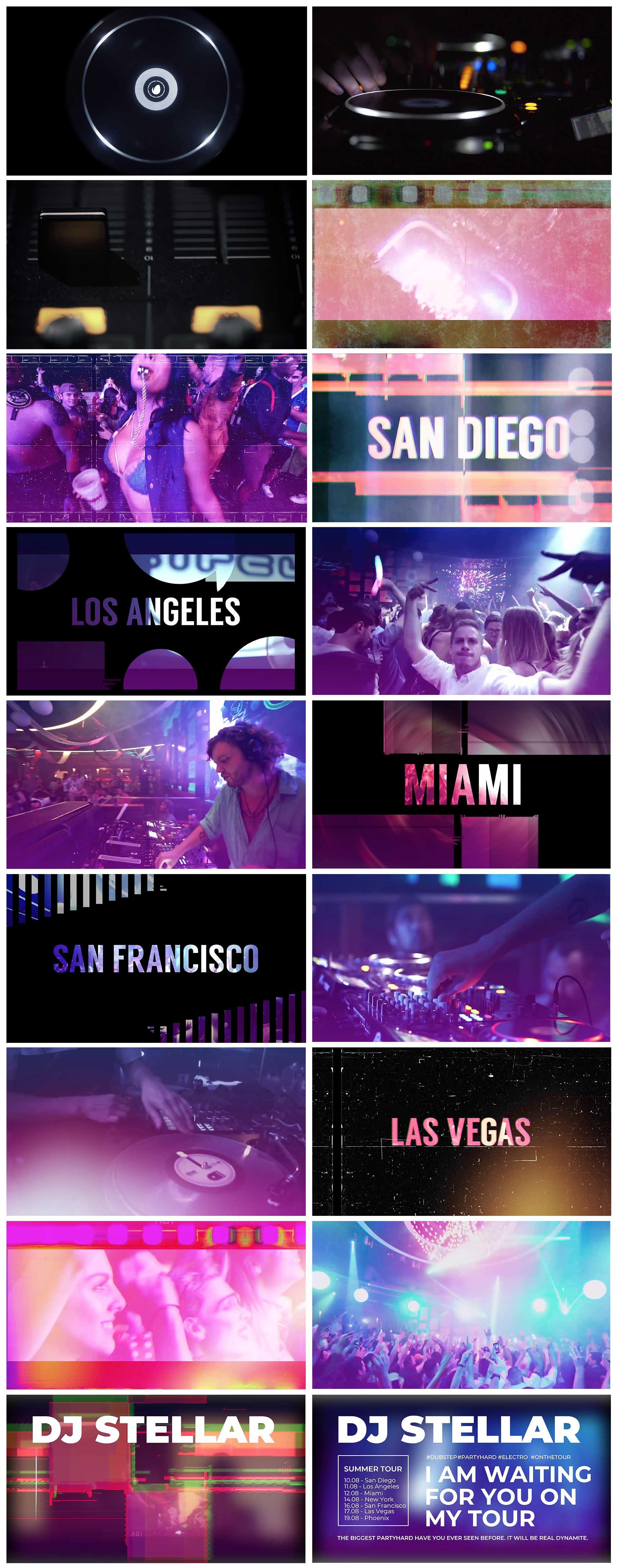 DJ // Night Club Promo   For Final Cut & Apple Motion - 7