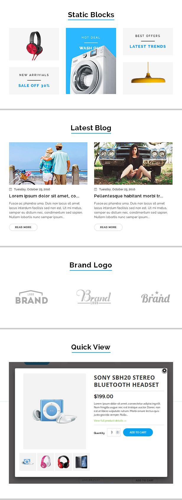 Mobile shopify theme