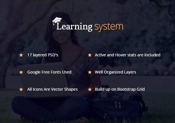Learning System PSD Template - 7