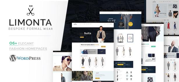 06+ Stunning Fashion Demos Limonta - Modern Fashion WooCommerce WordPress Theme
