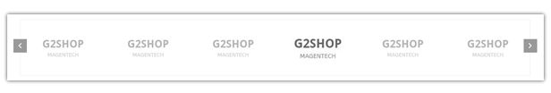 G2Shop - Logo Slider