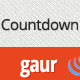 Gaur - Countdown with animation