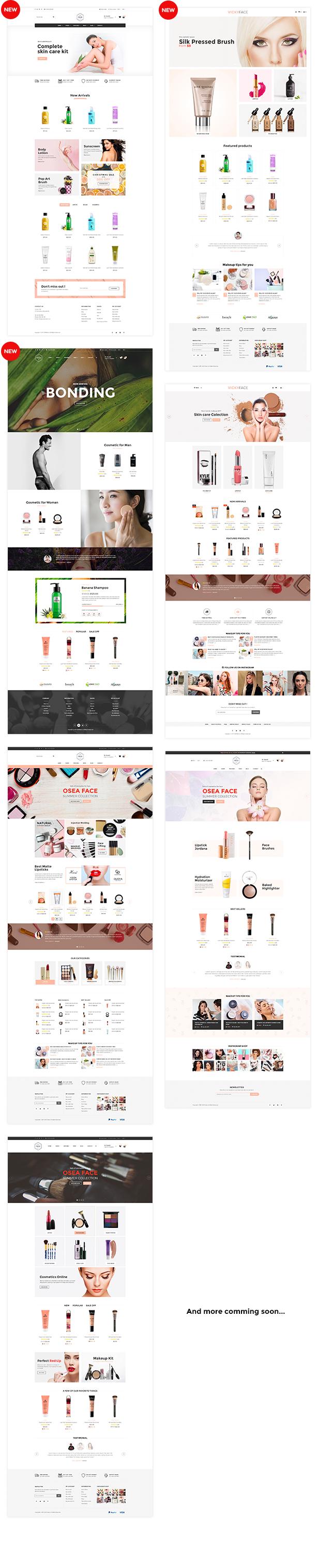 SNS Vicky - Cosmetic WooCommerce WordPress Theme - 4