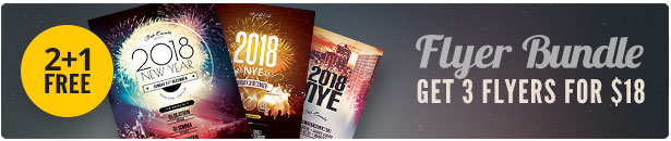 New Year Flyer Bundle Vol.02