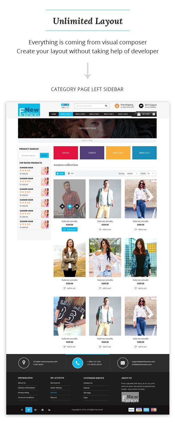 Fashion Multipurpose WooCommerce Theme - 6
