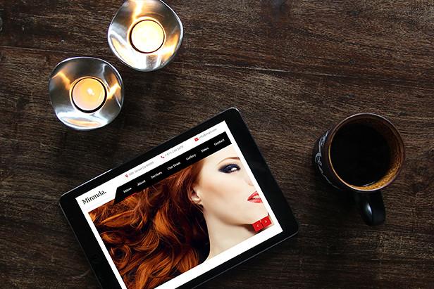 Miranda - Beauty Salon, Nail Salon Template - 11