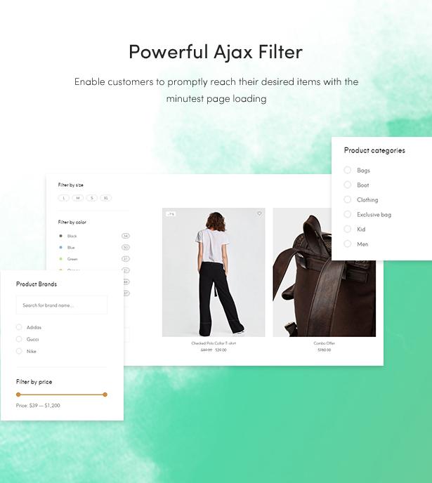 free fashion blog themes 2018 - powerful ajax filter