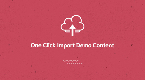 one click import tool in Givelove Non Profit Charity & Crowdfunding WordPress Theme