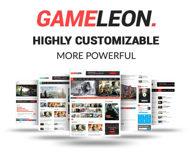 Gameleon - WordPress Arcade Theme & News Magazine - 2