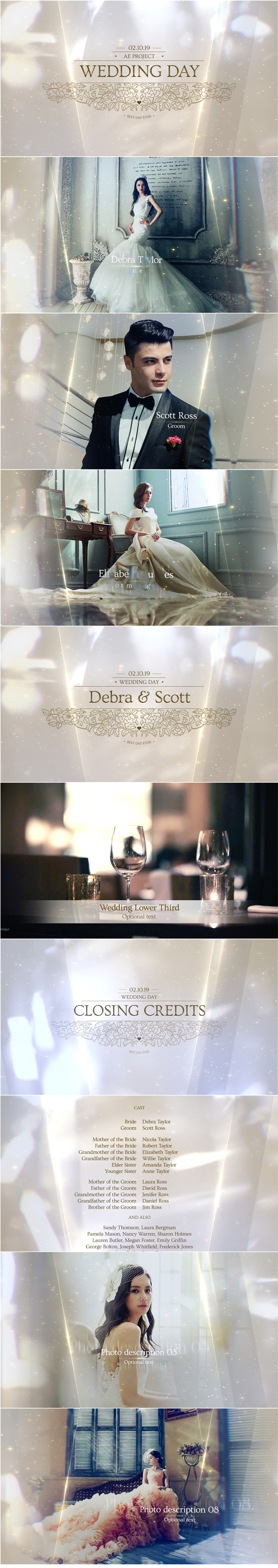 Wedding Pack After Effects AE Template