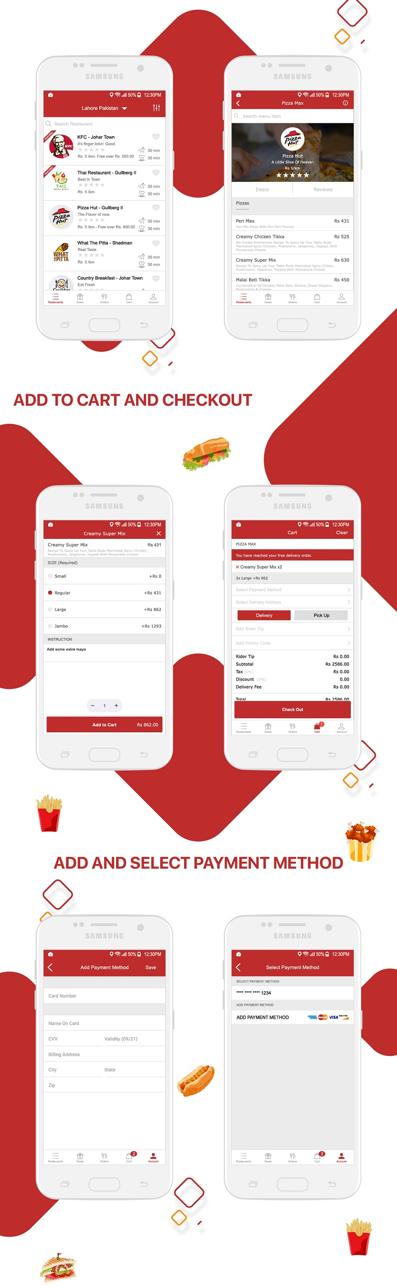 Restaurant Food Delivery & Ordering System With Delivery Boy - Android v1.1.2 - 8