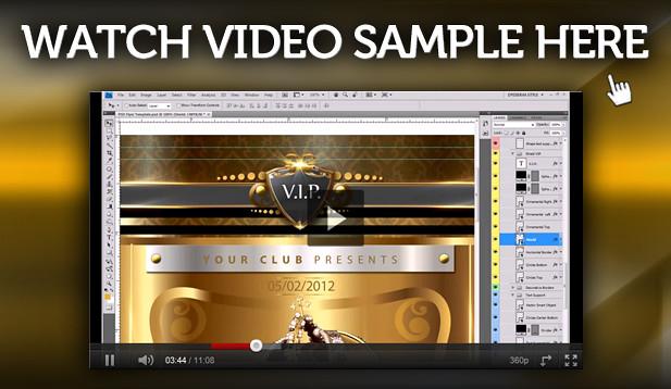 Video Sample Flyer 8