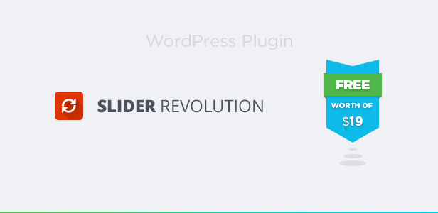 Revolution Slider Plugin Included