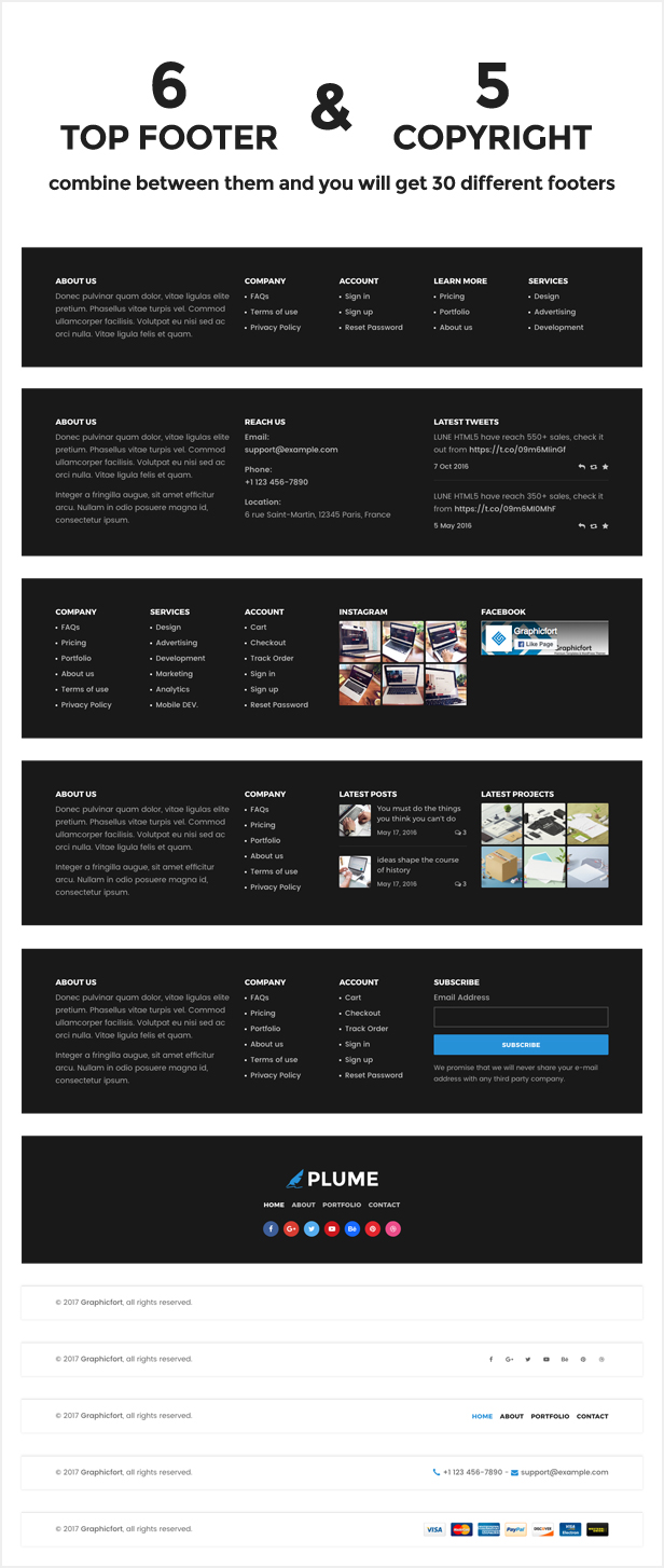 plume html5 multi