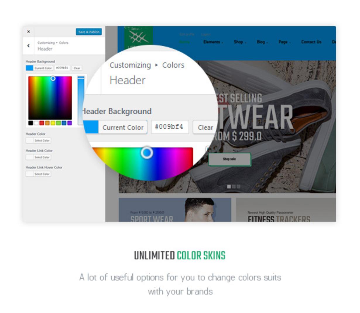 Littlemonsters Unlimited Clor Sport Shop Woocommerce WordPress Themes