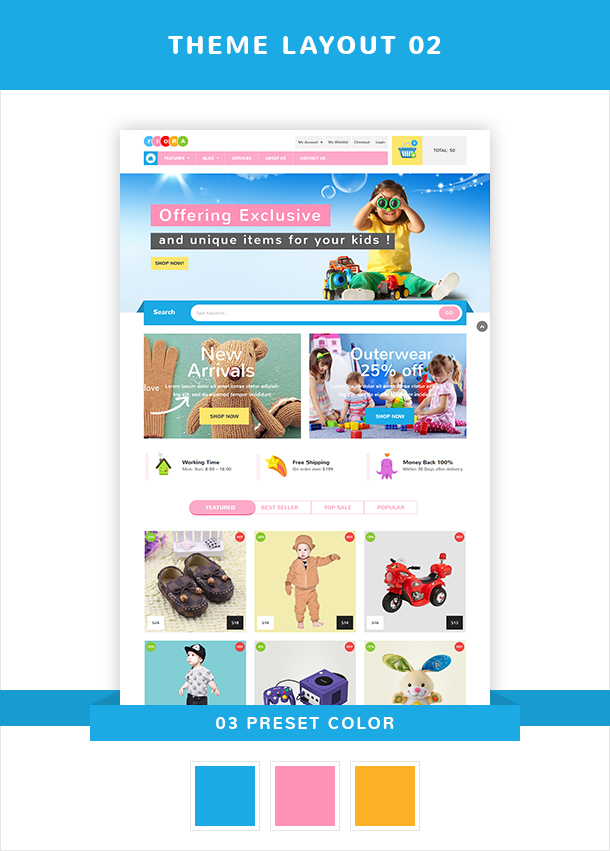 VG Fiora - WooCommerce WordPress Theme for Kids Store - 14