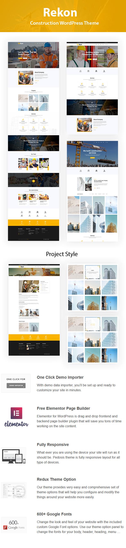 Rekon - Construction WordPress Theme - 4