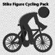 light-r-won - Stick Figure Cycling Pack