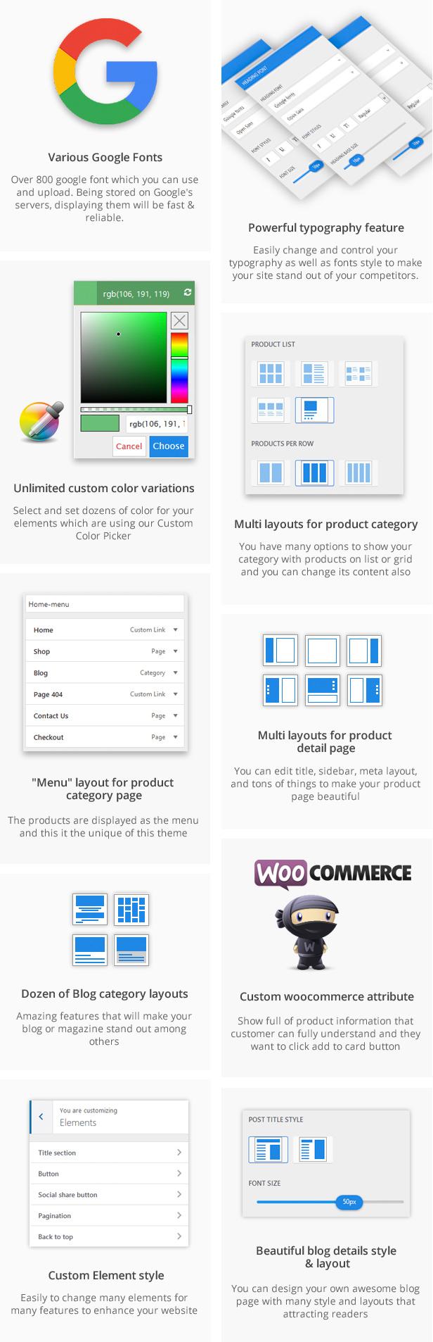 Marketplace WP Theme support Dokan Multi Vendors - 19