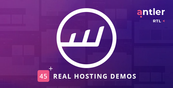 Antler - Hosting Provider & WHMCS Template - Hosting Technology