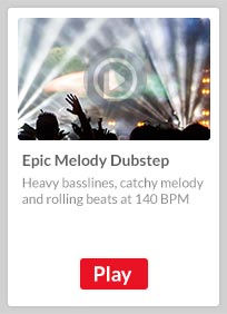 Epic Melody Dubstep, with heavy basslines, catchy melody and rolling beats at 140 bpm
