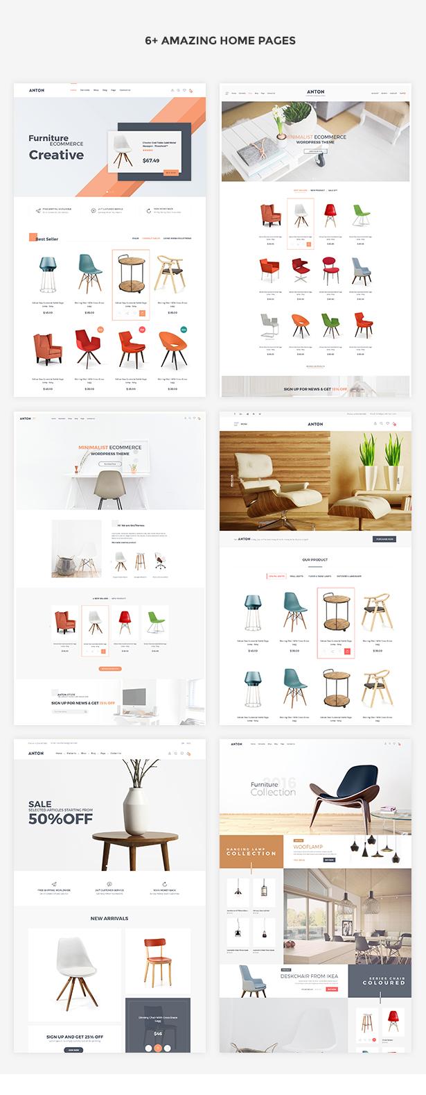 SNS Anton - Furniture WooCommerce WordPress Theme - 1