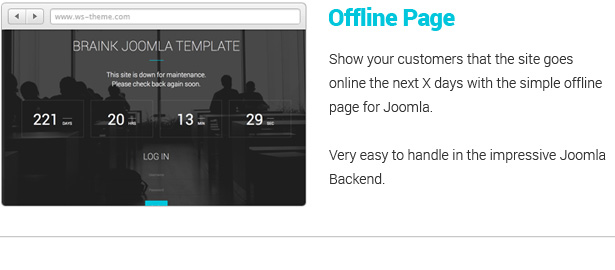 Braink - Responsive Multi-Purpose Joomla Template - 9
