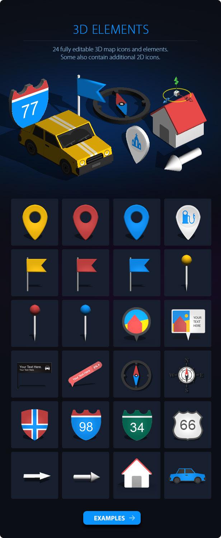 3D Map Generator - 3D Mapper - Photoshop Plug-in - 9