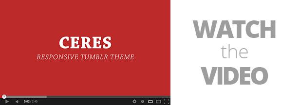 Ceres - Responsive Tumblr Portfolio Theme by adraft | ThemeForest