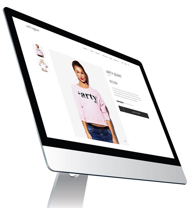 inVogue - WordPress Fashion Shopping Theme - 13