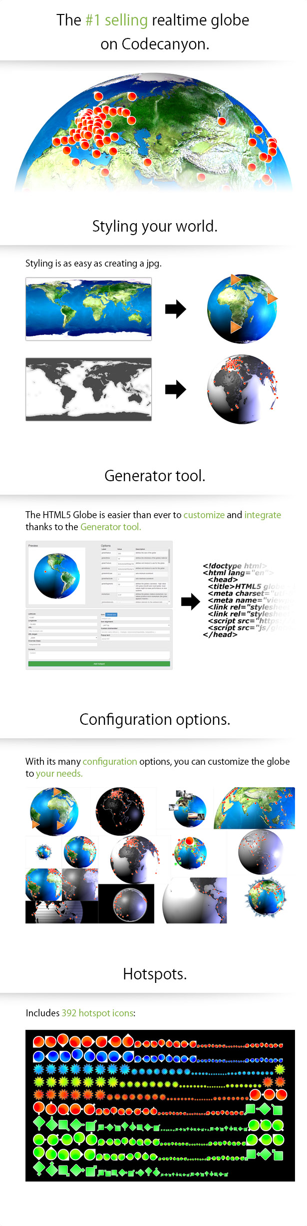 Download HTML5 Globe Nulled